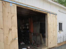 amazing design ideas to build a sliding barn door in your house top notch garage