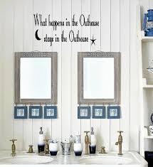 bathroom wall decor relax cursive