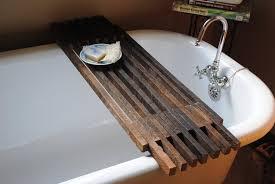 clawfoot tub bath caddy formidable prodigious bailey bathtub pottery barn home interior design 32