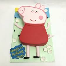 Peppa Pig Cartoon Characters Birthday Cakes Decorated Cakes