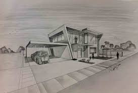 modern architectural sketches. Perfect Architectural Cool Buildings To Draw Of Modern Architecture Sketches Gothic Inside Architectural C