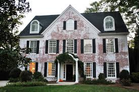 Delightful Painted Brick Shutters Brick Houses Pinterest