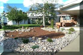 Xeriscape Front Yard Beautiful Design Ideas Pictures For With Home  Improvement Xeriscape Sloped Front Yard