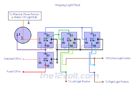 flashing lights positive input positive output isolate left Wig Wag Flasher Wiring Diagram relay diagrams wigwag flashing lights positive input positive output isolate left and right lights galls wig wag flasher wiring diagram