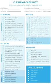 Checklist Template Word Professional House Cleaning Checklist Template Word For Maid In