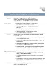 photos of printable clinical research coordinator resume large size