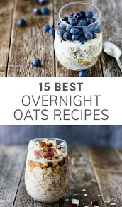 15 best healthy overnight oats recipes