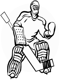 Hockey 5 Sports Coloring Pages Coloring Page Book For Kids
