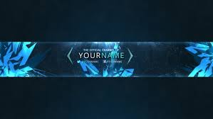 youtube channel banners ice berg youtube channel banner template