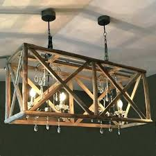 chandeliers diy wood chandelier rustic reclaimed chandeliers wooden cage modern bead c