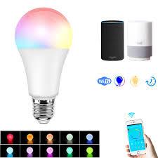 What Does An Led Light Bulb Look Like E27 7 5w Rgbw Dimmable Smart Wifi App Control Led Light Bulb Work With Alexa Google Home Ac100 264v