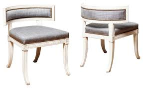 Bathroom Klismos Chair Sulla Type Klismos Chairs In Carved And Painted Wood Modern  Chairs ...