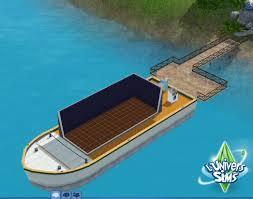 sims 3 ile de reve construction maison bateau