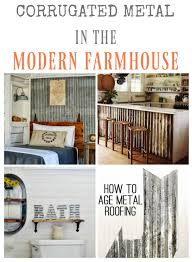 9 farmhouse style corrugated metal projects knickoftime net