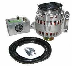 6g extra heavy duty output for ford powerstroke diesel ford motorcraft type 6g series alternator quicktifier attached
