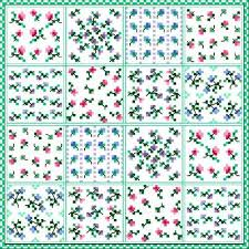 Cross Stitch Flower Patterns Delectable Flower Patch Cross Stitch Pattern Flowers