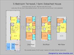 terrace modern house floor plan