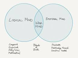 Parts Of A Venn Diagram Wise Mind Addiction Treatment Article About Wise Mind In