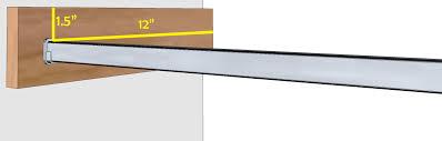 standard depth closet shelves dandk organizer