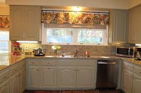 Contemporary Kitchen Curtains Decorations Elegant Striped Modern Kitchen Curtains Style Inside