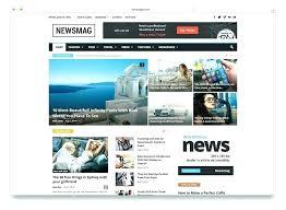 Website Template Newspaper Newspaper Html Template Best Business Website Templates
