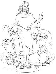 Wonderen Van Jezus Opheffen Van Jaïrus Dochter Kleurplaat Royalty