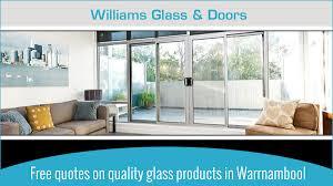 williams glass doors glazier glass replacement services 23 albert st warrnambool