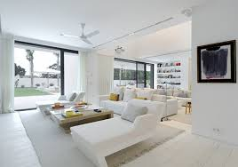 all white living room. image of: white living room furniture ideas all