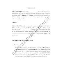 standard investment contract small business investment agreement template 6 company