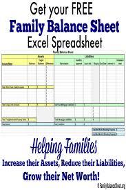 amazon balance sheet free family balance sheet excel spreadsheet familybalancesheet org