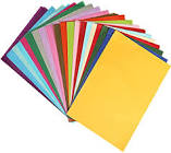 Naler 200pcs Tissue Paper Sheets, A4 Size Assorted Colors Art Tissue Paper for DIY Crafts