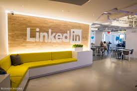 Linkedin new york office Creative Director u003cpu003ethe Company First Moved Into The Empire State Building In 2011 Its Yahoo Finance Look Inside Linkedins New York Office