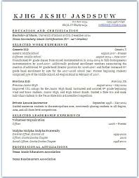 Music Teacher Resume Examples Examples Of Resumes