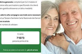 Oltre 100mila in coda, lunghi tempi di attesa per prenotare il vaccino  covid over 80 in Lombardia