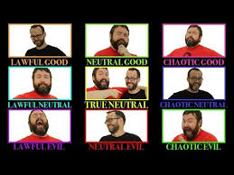 Chaotic Neutral Chart Test Alignment Lawful Good To Chaotic Evil In 5e Dungeons Dragons Web Dm