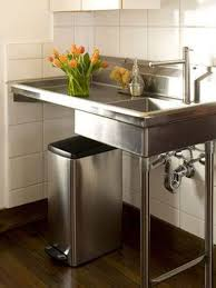 commercial kitchen sink. Stand Alone Stainless Steel Kitchen Sink More Commercial