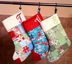 Quilted Christmas Stocking Pattern Cool Quilted Stockings Blog Finished Projects Of 48 Pattern Flickr