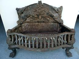 fireplace grate cast iron old cast iron fireplace grate antique fireplace grates cast iron