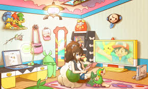 Pokemon Bedroom Wallpaper Pokacmon 308188 Zerochan