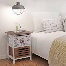 vidaXL <b>Bedside Cabinets 2 pcs</b> Wood– House of Isabella AU