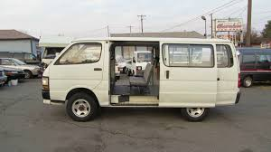 TOYOTA HIACE VAN DX F5, 1991, LH119 0012345, 3L diesel - YouTube