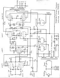 webster 95b25 14dbw pa amplifier 2 6l6 schematic electronic webster 95b25 14dbw pa amplifier 2 6l6 schematic
