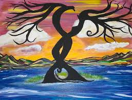 Nature In Love Painting by Jeannette Smith