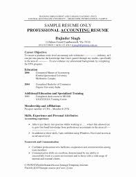 23 Luxury Sample Accounting Resume Emsturs Com