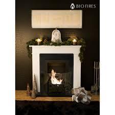 carrington cream traditional bio ethanol fireplace