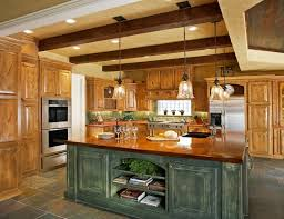rustic kitchen islands light fixtures