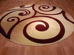 interesting round area rugs for your house inspiration round contemporary area rugs for