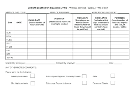 Payroll Time Sheets Free Bi Monthly Template Best Photos Of Free Forms Printable