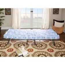 roma folding bed with twin medium mattress