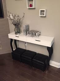 appealing console tables ikea for home furniture ideas white console tables ikea with 3 stools